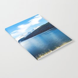 Clinton Gulch // Day Light Mountain Lake Forest Snow Peak Landscape Photography Hiking Decor Notebook