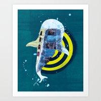 terra incognita I Art Print