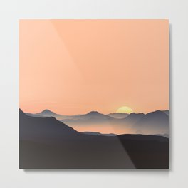 sundown feels Metal Print