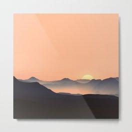 sundown feels Metal Print
