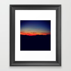 Biltmore Sunset Framed Art Print
