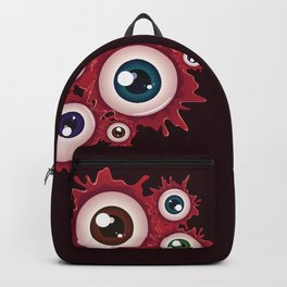 Bloody eyeballs Backpack