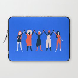 Girl Gang - Blue Laptop Sleeve
