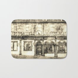 Greyfriars Bobby Pub Edinburgh Vintage Bath Mat