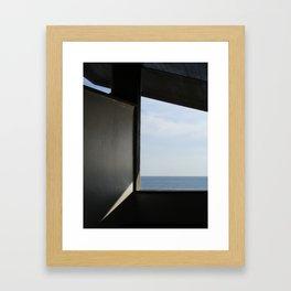 Piscinas SIZA OPORTO Framed Art Print