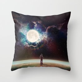 The Surface Of Things Throw Pillow