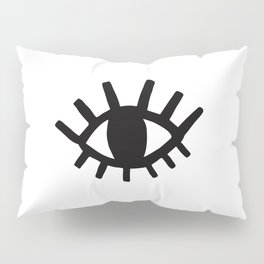 Open Eyes Pillow Sham