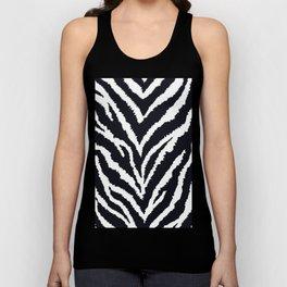 Zebra fur texture Unisex Tank Top