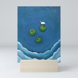 Sheep Gravity Experiment Mini Art Print