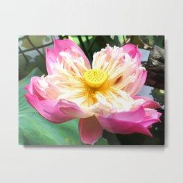 Lotus Art Two Metal Print
