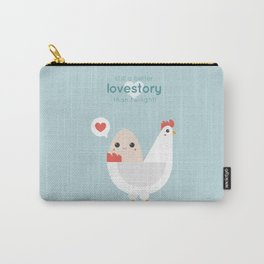 Egg& Chicken lovestory Carry-All Pouch