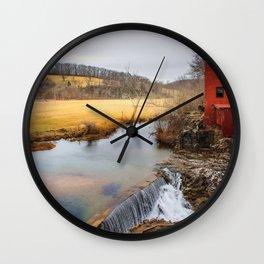 Dillard Mill Steelville Mo Wall Clock