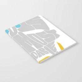 "Zenyatta Typography - ""A Disciplined Mind"" Notebook"
