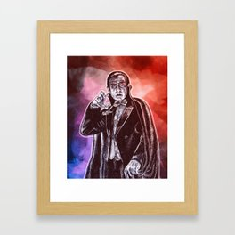 The Prince Of Darkness Framed Art Print