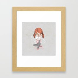 My Diary Framed Art Print