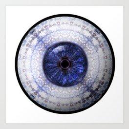 Ceramic  Eyball Jewel Art Print