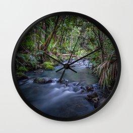 Kitekite Stream Wall Clock