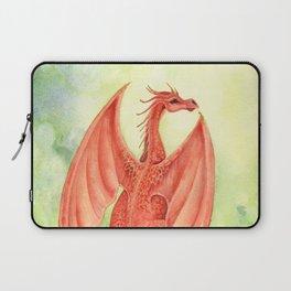 Vermillion Dragon Laptop Sleeve
