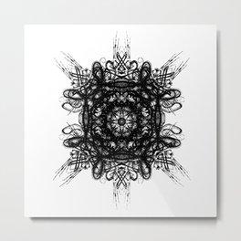 Bone Symmetry Metal Print
