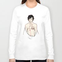 sherlock holmes Long Sleeve T-shirts featuring [ Sherlock ] Sherlock Holmes Benedict Cumberbatch  by Vyles