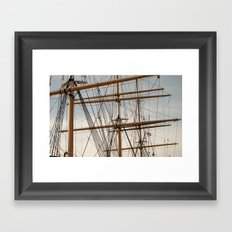 Block & Tackle  Framed Art Print