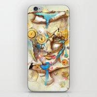 calendar iPhone & iPod Skins featuring Calendar Machine by Archan Nair