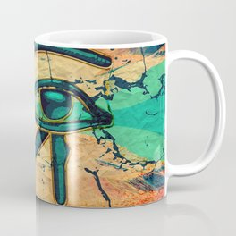 Egyptian Eye of Horus - Ra Coffee Mug