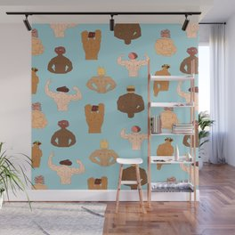 Meat-Heads Wall Mural