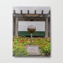 Veronica Sunbay Garden Metal Print
