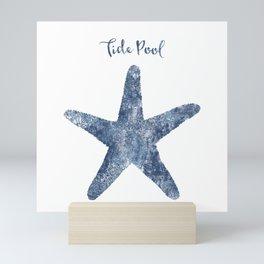 Starfish Tide Pool habitat Mini Art Print