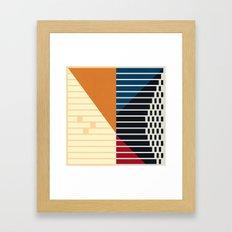 Lines #7 Framed Art Print
