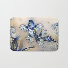Playfully Shimmering Bath Mat