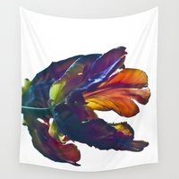tulip Wall Tapestries featuring TULIP DREAM by CAPTAINSILVA