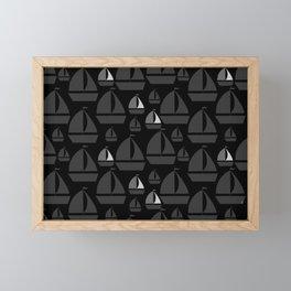 MonochromaticSails Framed Mini Art Print
