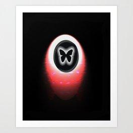 BUTTERFLY10 Art Print