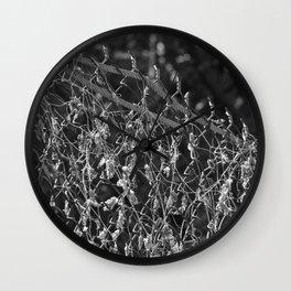 Remnants of Beauty Wall Clock
