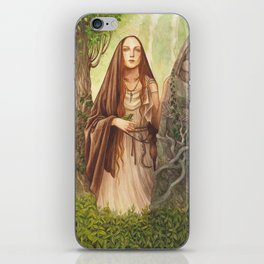 Viduca ~ A Compendium Of Witches iPhone Skin