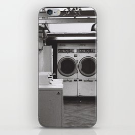 clean laundry iPhone Skin