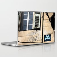 invader zim Laptop & iPad Skins featuring Invader by theGalary