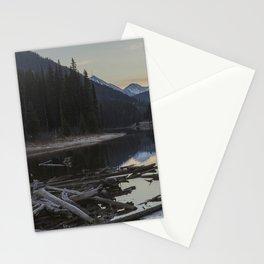 Sunrise at Lillooet Lake Stationery Cards