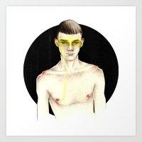 O Amarelo Art Print