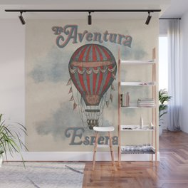 La Aventura Espera (Adventure Awaits in Spanish) Wall Mural