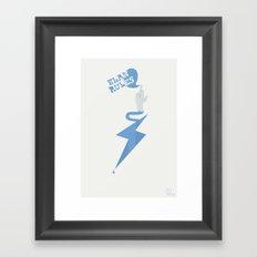 Elan Rules Framed Art Print