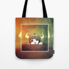 Viking Kitty Tote Bag