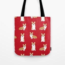 Corgis - Cute corgi, dog pet, corgi decor, corgi pillow, corgi bedding, corgi pattern, cute corgi de Tote Bag