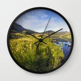 Llyn Ogwen and Tryfan Wall Clock