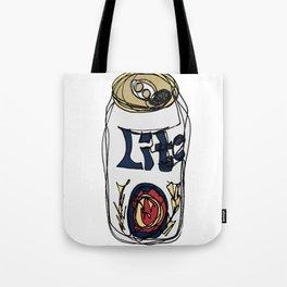 Miller Lite Can Tote Bag