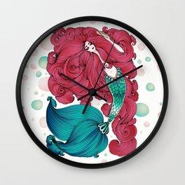 Marmaid Wall Clock
