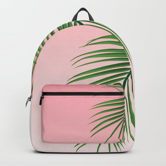 Palm Tree Leaves Backpack