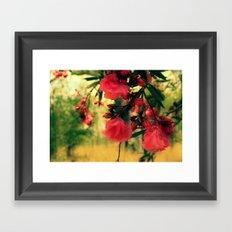 A promise of sweet softness Framed Art Print